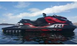 014 Sea Doo Rxp X 260, $20,000 in upgrades which includes RIVA Supercharger, RIVA Impeller, RIVA Ride Plate, RIVA Steering Kit, RIVA Cold Air Intake Filter + (2) Billet Heat Release Vents, RIVA Water Box Reduction, RIVA Valve Train Upgrade, RIVA