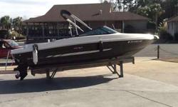 2014 Sea Ray 205 Sport with 4.3 Mercruiser No trailer. Boat is in great condition and has only 61 hours. Boat is stored at Lighthouse Marina and has bimini top, hour meter, depth finder, stainless steel prop, Sony stereo system and bow and cockpit covers.