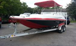 THIS UNIT IS A 2014 STARCRAFT 220 STAR STEP, HULL ID STR337721314, ENGINE IS A 2014 MERCURY 4.3 MPI SERIAL NUMBER 2A173822 , DRIVE IS A MERCURY ALPHA ONE ALSO A 2014 SERIAL NUMBER 2A122659, BOAT AND ENGINE HOURS ARE RIGHT AT 28 HOURS. YES IT IS UNDER