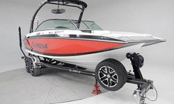 "We have this priced $18,000 below ""2013"" NADA avrg retail, but this one is a 2014!! Local Surf boat we sold new and serviced since new. Customer is now ordering a 2015 Supreme V226. Only 90 hours and still on factory warranty. 340hp Indmar Fuel Injected"