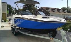 JetBoatPilot is selling its 2014 Yamaha 212X. New in March 2014. Important Details: Boat Hours: 23.4.Galvanized Trailer.Full JBPEdition Package Installed which includes the following JBP Accessories-Thrust Vector XV, Tru-Lock 2, Swim Platform Seat