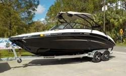 Take this boat out for a relaxing day on the water!!!!!! Who are we trying to kid... This boat is a blast to operate and enables you to spend quality time making memories with family and friends. Be sure to watch the video to see and hear just how well