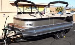 2015 Avalon Catalina Cruise 23' - Triple Tube PontoonPlease call for Pricing (928) 855-8588The mid-range Avalon Catalina Cruise is frequently mistaken for a very expensive model. This full-size 8 1/2'-wide model features our exclusive Deco-style walls and