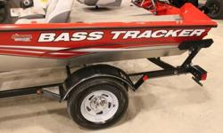 This unit has less then 3hrs on the the 60hp Mercury Motor. It has a Eagle Utra Classic Finder on the Bow of the Boat. It has 2 Huge Storage compartments and 1 Large center Rod Locker. Boat also comes with a Bass Tracker Boat Cover. It also has a Lowrance
