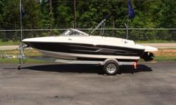 """2015 Bayliner 175 BR Black Ray Clepper Boating Center 803-781-3885 www.rayclepper.comSpecificationsLOA 17'6"""" Beam 6'11"""" Deadrise 19° Approximate weight w/standard engine 1,923 lbs Draft max 2'11.75"""" Fuel capacity 21 gal Base Price 17,899Freight 1,818"""