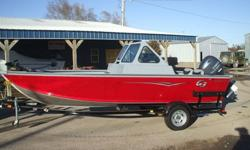 This is the all new G3 dealer demo Guide V177WT 17.7' deep v aluminum multispecies boat with Yamaha 70hp EFI 4 stroke outboard and custom Bear trailer. The boat has the following equipment extra large livewell,bait bucket,transom saver,removeable MinnKota