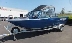 "ALL STD FEATURES PLUS: ARMOR COAT GUNNEL AND IINTERIOR PAINT, UPGRADED PRO ANGLER SEATS, 36"" SIDE BENCH SEATS, PORTA POTTY, DUAL WIPERS, CARPETED SIDES AND GUNNEL TRAYS, WELDED PLATFORM W/REBOARDING LADDER, CANVAS TOP W/SIDE CURTAINS AND DROP CURTAIN,"