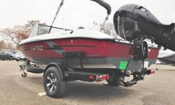 Mercury 150 HP ELPT Fourstroke, Sport Package (Cover, Ski tow bar, Snap Carpet), Kicker Fuel Line, Sport Top, Bow Cushions, Bow Cushions.The Lund 186 Tyee GL fiberglass fishing boat is designed with all the features that only a Lund fishing boat can