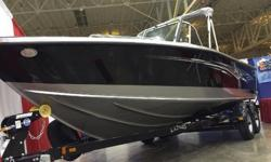 New 2015 Tyee Magnum Equipped with 200 Verado and Mercury 9.9 Pro Kicker with full controls and rigging. Loaded with Hydraulic Steering, Spare Tire, Washdown, 2 Additional Speakers, Premium (snap less cover), Premium Complete Canvas Set w/Sport Top, Side