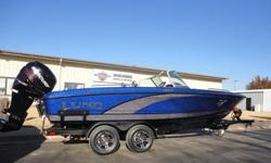 The Lund 219 Pro-V GL fiberglass fishing boat series has been completely redesigned. From the command consoles, to the rod lockers, to overall storage on the boat the 219 Lund Pro-V GL has all the features that only a Lund fishing boat can offer. With an