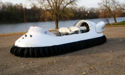 Brand New 2015 Neoteric Hovertrek Hovercraft Hovertrek 6 passenger Deluxe Side X Side seating, fully assembled with all standard options. Neoteric essentially created the light hovercraft industry and is now the most experienced light hovercraft