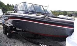 Then check out the all NEW NITRO ZV 18 multi-species boat! A slightly downsized version of our lauded ZV 21, this master of the big northern waters features input from the world's leading walleye anglers.The aggressive, hand-laid Deep V hull slices