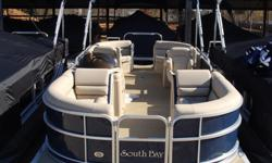 """2015 South Bay 24 RS NavyRay Clepper Boating Center 803-781-3885 www.rayclepper.com SpecificationsOverall Length 23' 9"""" Width 8' 6"""" Weight (2 Tubes) 2230 lbs. Max. Weight Cap. (2 tubes) 2295 lbs.Person Cap. (2) 12Tube Diameter 25""""Max. HP (2 tubes)"""