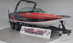 Supreme S21 was a brand new boat in 2014! What a huge success! You can not find a surf boat that produces such a huge surf wake for this kind of money! Quality built without all the high dollar electronic controls. This S21 will do everything you want!!