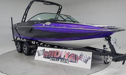The Supreme S21 was a brand new boat in 2014! What a huge success! You can not find a surf boat that produces such a huge surf wake for this kind of money! Quality built without all the high dollar electronic controls. This S21 will do everything you