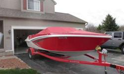 2016 Glastron GT 205 XL, 78 hours very much like new, moved off lakeLoaded with options, 4.3 mercr,