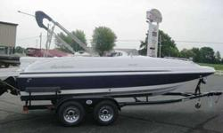 FULL COVER, BLUETOOTH STEREO, 4 SPEAKERS, FULL SWIM PLATFORM, ELITE 3X COMBO, BUCKET CAPTAINS CHAIR WITH BOLSTER, SNAP IN MAT FLOORING, STAINLESS STEEL HARDWARE PACKAGE, STERN TABLE, DOCKING LIGHTS, TRAILMASTER TRAILER WITH BRAKES. PRICE LISTED IS MSRP