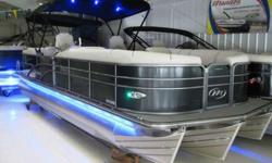 West Lakes Boat Mart MSRP @ $75,000 Call us for pricing.. 877-817-XXXX westlakesmarine.com SILVER LUNA FLOORING, BOW FILLER SEAT, POWER TOP W/LED, SS DOCK GUARD PACKAGE, IN TUBE STORAGE, LED CUP HOLDERS, TABLE BASE, PEDESTALS & EXTERIORHIGH BACK CHAIRS,
