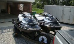 ,,,,,2012. 66 hours on each ski. Very well maintained and cared for. Top speed 62mph. Has break and reverse on handle bars. Always kept in a conditioned garage. Never in salt water. Professionally winterized every year. Just replaced batteries and have