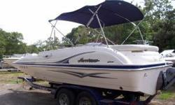 HURRICANE DECKBOAT 2006 ENGINE ONLY HAS 27 HOURS ON IT 4.6 V6 VOLVO INBOARD WITH FUEL INJECTION CALL FOR DETAILS OR OFFERS OR EMAIL (click to respond) ASKING PRICE $20000 WILL ENTERTAIN OFFERS Listing originally posted at http