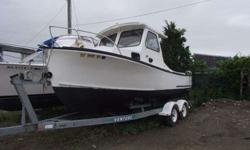 22' Sisu boat, fitted for lobstering. New pot hauler, 4.3 Chevy gasoline engine call Dwight (click to respond)Listing originally posted at http