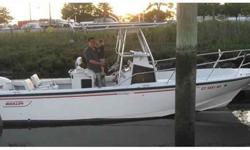 2008 E-Tec 300hp motor with 30 in shaft, SS Viper prop., motor is on full warranty until 3/31/13, Currently has 150 total hours on motor, New T-Top canvas, also comes with T-Top extenders for extra coverage, I-command gauge system, new batteries, Garmin