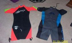 2 wet suits shortys one xl 1 large great cond $20 each or $30 for both 303-888-1071Listing originally posted at http