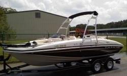 Very Nice one-owner Fish and Ski Boat.Has 60-80 hours on the motor. The Tahoe 195 I/O is an attractive total package for those interested in a deckboat. She offers versatility for water activities, and good amount of seating and storage for a growing