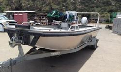 This boat is the ULTIMATE WORKHORSE; designed for hauling, pushing, &/or towing. Perfect for jobs around the docks and with its extra wide frame it's also an ideal netting and fishing boat! Highlighted Features:1) 20?L X 72?W ALUMINUM BOAT2) 30? HIGH
