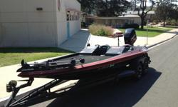 1989 20' Gambler Bass Boat w/ 200hp Mercury Optimax (Mwd approved) runs strong, boat will do 65mph with two big anglers and full tournament gear. Hull is a 1989 and motor is a 1998. Boat is in solid condition but could use some tlc on small things like