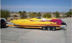 NEW 540'S WHIPPLE CHARGED EFI 1000HP ENGINES,NEW SCX DRIVES,RARE MIDCABIN OPEN BOW,SOLD NEW TO CUSTOMER IN 2007,SUPER CLEAN & LOADED,MORE INFO COMING SOON.928-855-9555 www.horizonmotorsportsllc.com