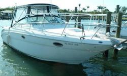 Call Phil Rhees - 305-491-6788 2000 Sea Ray 290/315 Amberjack Overall length 29?0? (8.84 m) w/Std. swim platform 31?4? (9.55 m) Engines