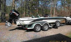 2002 Ranger 522 VX Commanche, Merc 250 XB, garage kept, used very little , xc cond, $21,000 e-mail (click to respond) for pics & more info .See item listed at http