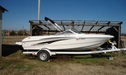2009 Chaparral 180 SSI $21,000 2009 Chaparral 180SSI - 190HP with extended swim platform, full bimin top and dual batteries. 25hours and very clean. Includes the Convenience Package.Dorsey trailer. Cockpit Diamond Pattern Non-Skid, UL Approved Dura-Life