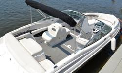 This 21ft Chaparral inboard/outboard motorboat, Well cared for and maintained, under 100 use hours. Runs excellent. Includes all covers, trailer, bimini top.Salt water boat. This boat is a perfect size to take along not to big not to small.Come and see