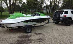 2012 Seadoo Speedster 150 Supercharged / trailer with extended warranty until 2015 Like new $23,000 Exclusive intelligent Throttle Control technologies for customizable driving like docking with precise handling and maneuverability. ECO mode for optimum
