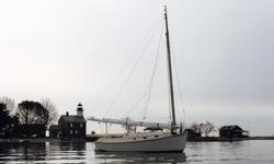 This 22? Cape Cod Catboat 1975 is located in South Salem, NY. Completely Restored and ready to launch! Designed by the venerable Ted Brewer she features 2 berths, a small galley and head inside the cabin and a spacious cockpit that easily accommodate a