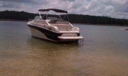 2000 Crownline 248 BRING ME AN OFFER... This is a lot of boat for the money. Great weekender for Lake Lanier. Plenty of room for you and your friends. The deep V hull and the 5.7 Merc will handle anything Lanier can throw at her. Call David Stinson