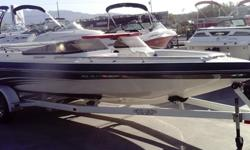 21' Commander open bow, merc.496, Bimini Top and Cover, Very very good condition, nice grapics, missing some stereo parts.