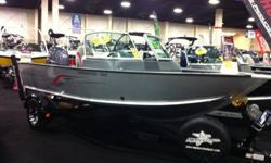NEW 2011 NAV 165 SPORT WITH A YAMAHA F90TLR 4-STROKE, DELUXE METALCRAFT TRAILER W/GUIDE ONS AND CHROME WHEELS