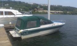 Ready for the water!21' Sea Ray Seville Cuddy Cabin (1988):- 2009 Tandem axle aluminum trailer with surge brakes included- 4.3 Merc great running and well maintained - Seats 7 adults comfortably - Spacious cuddy with porta-potty- New Lowrance Depth/Fish