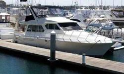 Cruiser, Twin Diesel Engines, 5.0 KW Generator, Anti Fouling Bottom Paint, Heavy Duty Stainless Steel Rub Rail, Stainless Steel Hardware, Panel Area For Electronics, Non Skid Decks, Ample Storage, Electric Horn, Transom Door Swing in, Radar