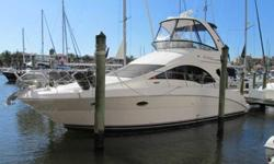 2007 Sea Ray 36 SEDAN BRIDGE This RARE one owner Diesel 36 Sedan Bridge was custom ordered and has been meticulously maintained since delivery. Only 344 hours. The majority of 36 Sedan's manufactured in 2007 and 2008 are gas powered, which carry a lower