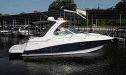 2008 Four Winns 378 VISTA STYLISH SPORTCRUISER FLAGSHIP OF TODAY'S FOUR WINNS FLEET IS AS GOOD AS IT GETS IN AN AFFORDABLE FAMILY EXPRESS. wIDE OPEN INTERIOR FEATURES EXPANSIVE SALON WITH TWO CONVERTIBLE SOFAS, WELL APPOINTED GALLEY. ELEGANT HIG-GLOSS