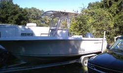 "04"" 21ft cc sailfish with t-top it has a 150 yamaha fourstroke and has the turnament package it comes with five penn reels and rods two shimano reels and rods a penn down rigger and a ten feet brand new $110 dollar cast net and tackle box filled with"