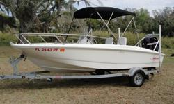 LIKE NEW!!! ONLY 12 HOURS ON MOTOR!!! FULLY LOADED WITH MORE THAN $5000 WORTH OF NEW EQUIPMENT!!!! Still Under Warranty With Boston Whaler!!! Purchased New at the End of 2011! it Has Only 12 Hours On It!!! Great for Family, Cruising, Wake Boarding &