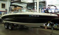 2004 Sea Ray 220 SELECT Only 200 Freshwater Hours on this luxurious Sea Ray 220 Select. Upgraded interior treatments thoughtfull features abound. This boat is in beautiful condition and ready for fun! Stop in to view it today! For more information please