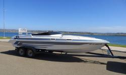 1997 Advantage 22? Citation closed bow for sale in San Diego. View More Details and Photos at: www.BallastPointYachts.comThis is a Big Block Mercrusier 454 Magnum MPI 385hp with Mercury Bravo 1 outdrive spinning a 4 blade prop. Boat has been used in both