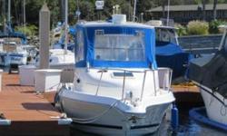 1999 Cobia 220 Walkaround for sale in San Diego, CA. Powered by Yamaha 200hp Saltwater Series II two-stroke outboard engine. Full electronics include Garmin GPS, ComNav autopilot, Interphase fishfinder, Standard Horizon VHF radio, JRC Radar, and Kenwood