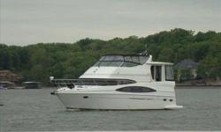 2003 Carver 466 MOTOR YACHT THIS IS ONE OF THE MOST BEAUTIFUL TRUE LIVE ABOARD VESSELS YOU WILL EVER SEE!! VERY SPACIOUS, WITH ALL THE AMENITIES OF HOME. TWO AND A HALF STATEROOMS WITH AN ADDITIONAL PULL OUT SOFA BED IN THE SALON. WILL SLEEP SIX VERY